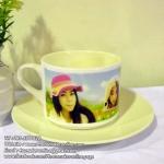 002-สกรีนชุดแก้วกาแฟ