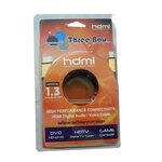 Cable HDMI M/M V.1.3 (3M) Gold Three Boy