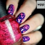 OPI - On Pinks & Needles สีกลิตเตอร์สปอตนิออนสีชมพูน่ารัก