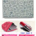 Case Ipad 2 สีเทาอ่อน **พร้อมส่ง**