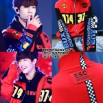 Jacket ESC STUDIO RACING JERSEY RED -ระบุไซต์-