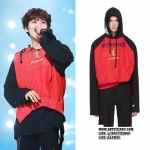 Hoodie Vetements Red Champion Edition Antwerpen Sty.Chanyeol -ระบุสี/ไซต์-