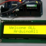 1602 LCD (Yellow Screen) 16x2 LCD with backlight of the LCD screen พร้อม I2C Interface