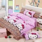 bedkitty (พร้อมส่ง) ชุดผ้าปูที่นอน+ผ้านวมหนานุ่ม 6 ฟุต