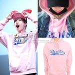 Hoodie BULLS NBA BASIC COLOR PINK Sty.Mark GOT7