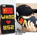 (จำนวนจำกัด) เคสไอโฟน WANG 852 แบบ Jackson -ระบุรุ่น-