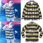 เสื้อเชิ้ต CAVEMPT C.E. Design Block Shirt Sty.SUGA -ระบุไซต์-