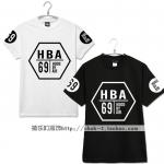 เสื้อยืด HBA Hood By Air [DE]69 -ระบุสี/ไซต์-