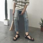 กางเกงยีนส์ Sty.Ulzzang [DENIM-18] -ระบุไซต์-
