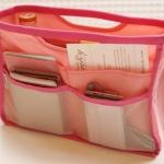 กระเป๋าจัดระเบียบ Secret Bag สีชมพู **พร้อมส่ง**