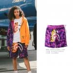 กางเกงขาสั้น A BATHING APE® TIGER SHARK -ระบุสี/ไซต์-