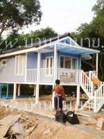 บ้านน็อคดาวน์ บ้าน ขนาด 4*6 ราคา 360,000 บาท (รวมทุกๆอย่างแล้ว) เหลือเพียงค่าขนส่ง