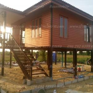 บ้านโมบาย ขนาด 8*6 เมตร ราคา 450,000 บาท