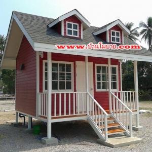 บ้านโมบบายสไตล์ตะวันตก ขนาด 3*4 ราคา 240,000 บาท