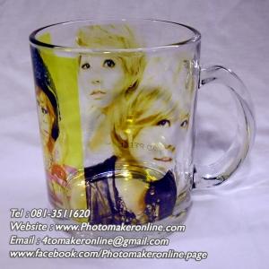 012 สกรีนแก้วใสวินเทจ