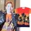 เสื้อยืด Saint Laurent Sleeve Palm Tree Sty.Taeyang -ระบุไซต์- thumbnail 1