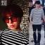 เสื้อแขนยาวขาวดำ Sty.G-Dragon GOT7 -ระบุไซต์- thumbnail 1