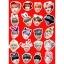 สติ๊กเกอร์พีวีซีเซต BTS CUTE MEMBER thumbnail 1