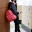 กระเป๋าเป้ MARK GOT7 Sty.TEO HENN BACKPACK MEDIUM RED thumbnail 2