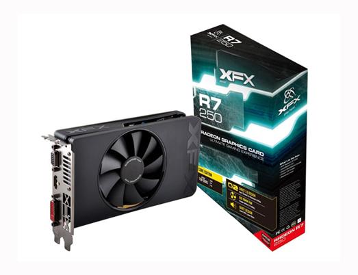 VGA XFX R7 250A 1GB DDR5 (R7-250A-NZF4)