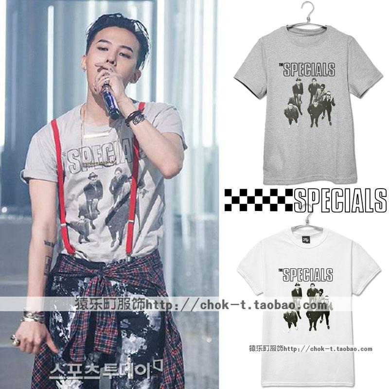 เสื้อยืด SPECIALS G-Dragon -ระบุสี/ไซต์-