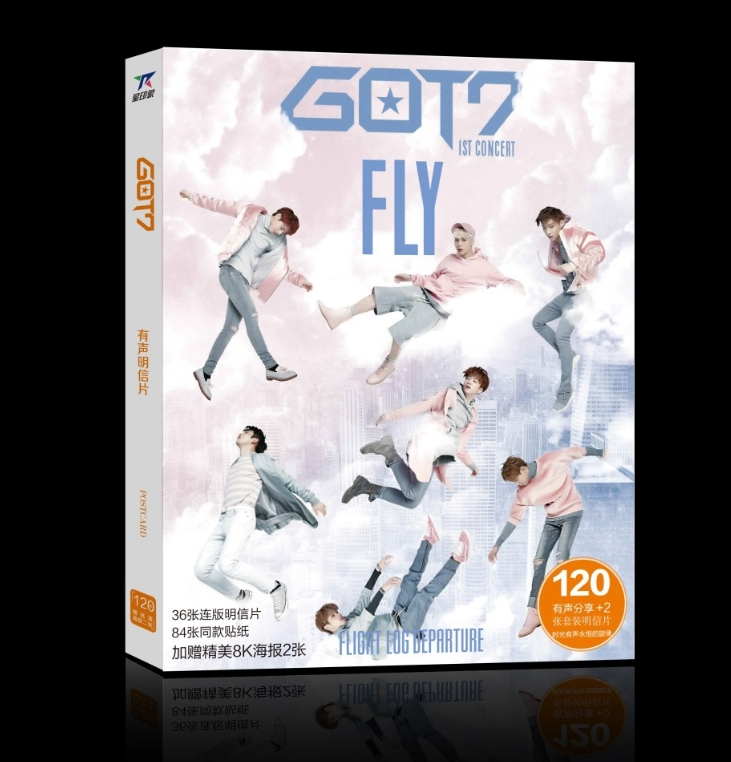 โปสการ์ดเซต Ver.2 GOT7 1st Concert