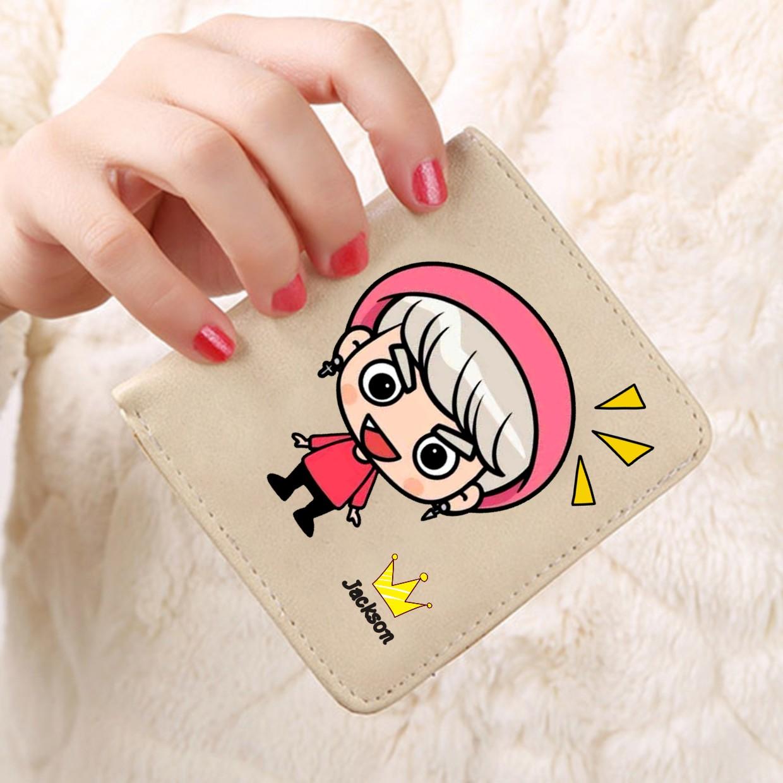 กระเป๋าสตางค์ Cartoon GOT7 Jackson /A
