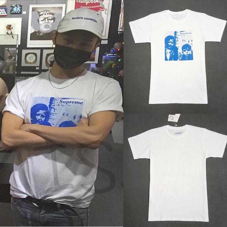 เสื้อยืด Supreme WHITE Sty.G-Dragon -ระบุสี/ไซต์-