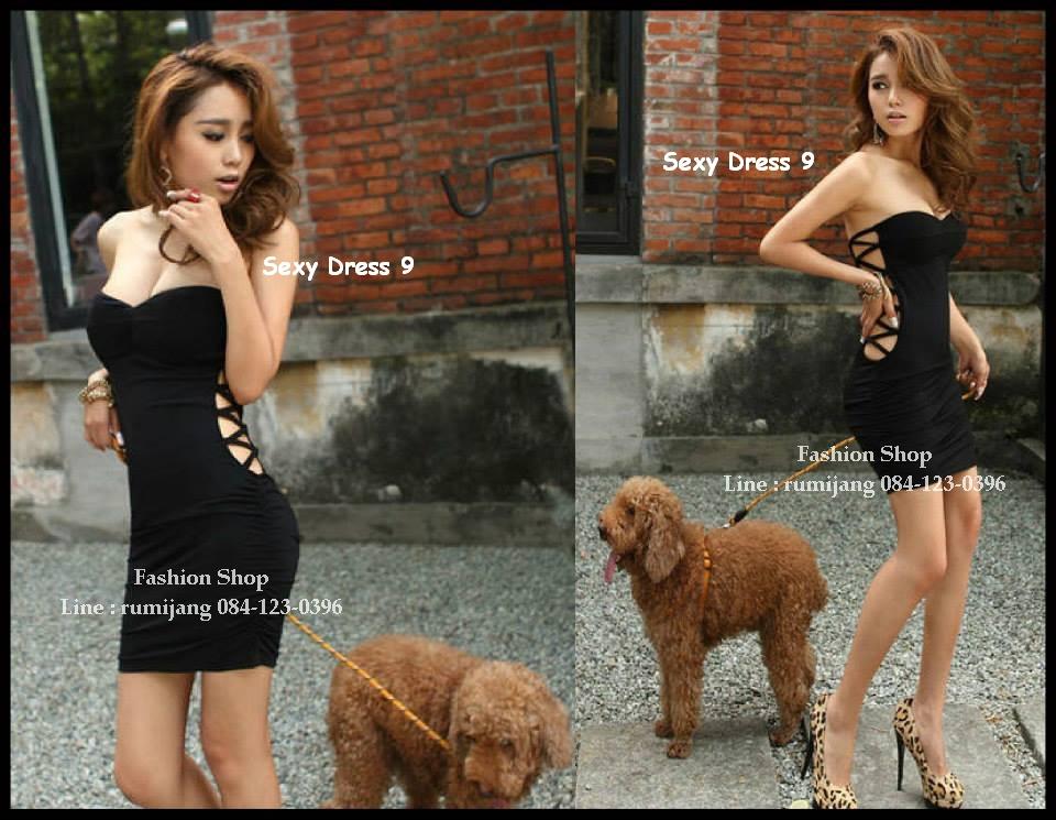 Sexy Dress 9 ( เซ็กซี่ เดรส 9 ) สีดำ