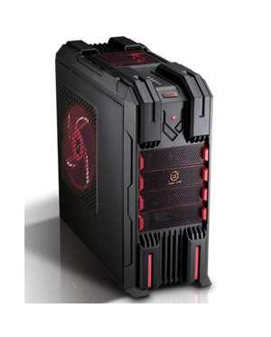 Case Tsunami I Robot [Black Red]