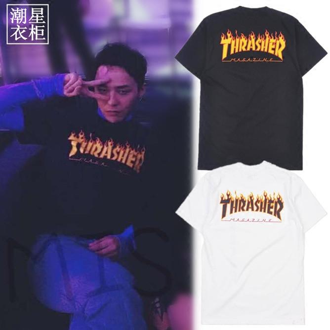 เสื้อยืด THRASHER Sty.G-Dragon -ระบุไซต์-