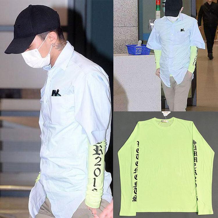 เสื้อแขนยาว Vetements Green Sty.G-Dragon -ระบุไซต์-