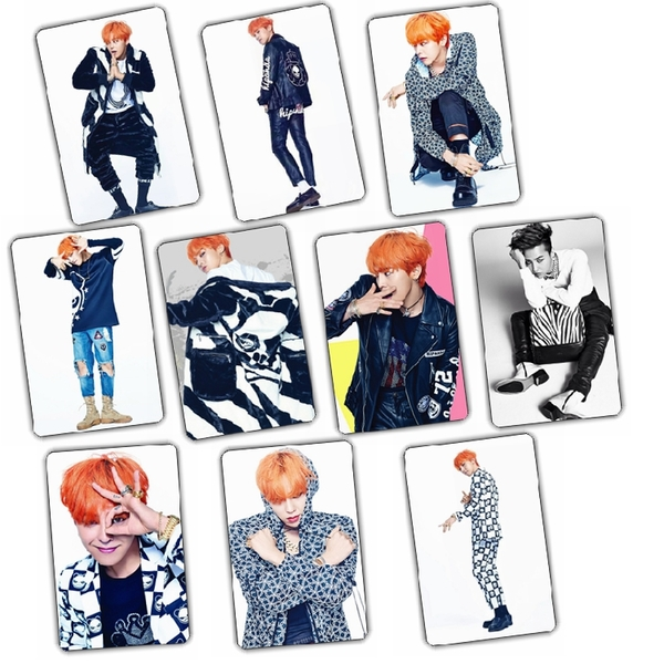 Sticker Card Mix G-Dragon KT740 (10pc)