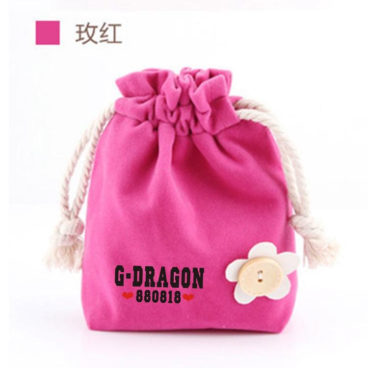 ถุงผ้าหูรูด G-Dragon