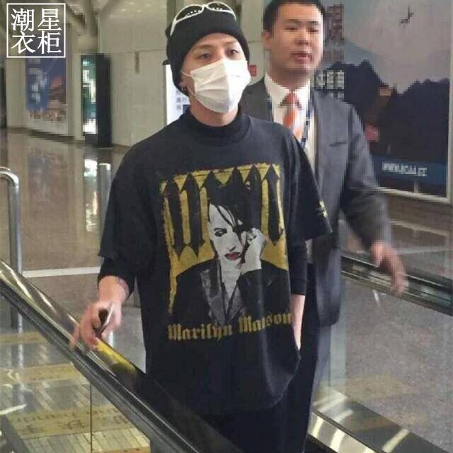 เสื้อยืด Marilgn MANSON Sty.G-Dragon -ระบุไซต์-