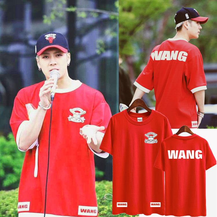 เสื้อยืด HOMERUN WANG Sty.Jackson GOT7-ระบุสี/ไซต์-
