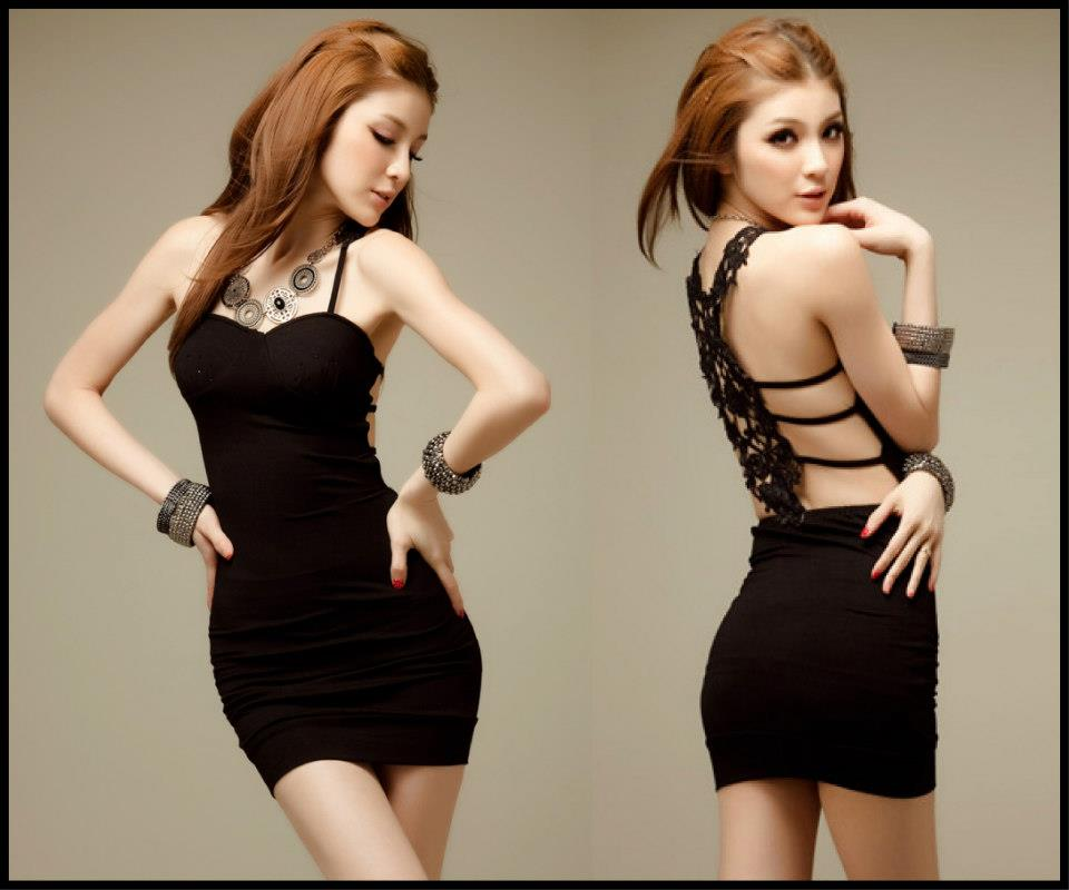 Sexy Dress 4 สีดำ