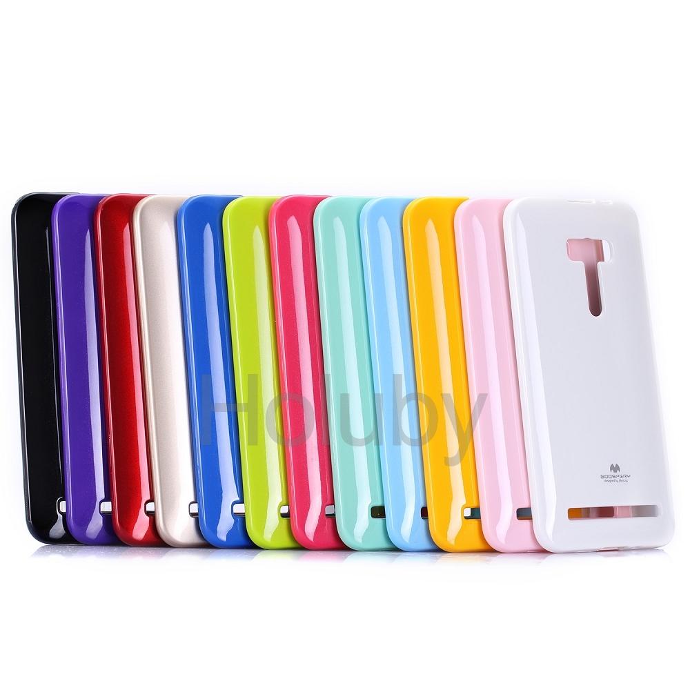 "Asus Zenfone2 (5.5"") - เคส TPU Mercury Jelly Case (GOOSPERY) แท้"
