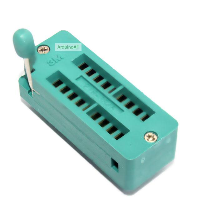 ZIF Socket 18 Pin Universal ZIF Dip Tester IC Test Socket