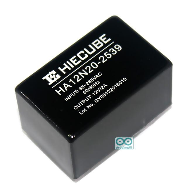 Switching Power Supply 220V to 12V 2000mA HICUBE แปลงไฟ 220V เป็น 12V กระแส 2A
