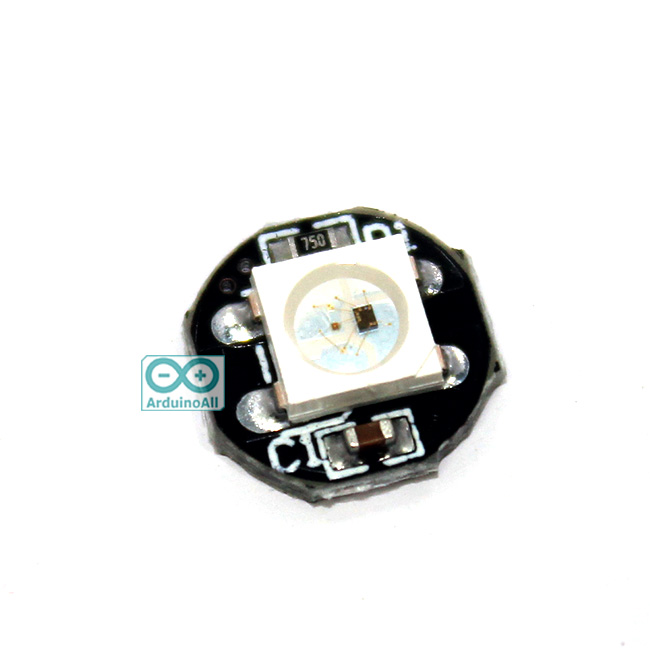 NeoPixel 1 LED WS2812B RGB IC DRIVER Built-In 5Vdc
