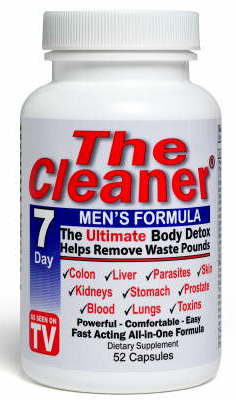 cleaner men 7 day