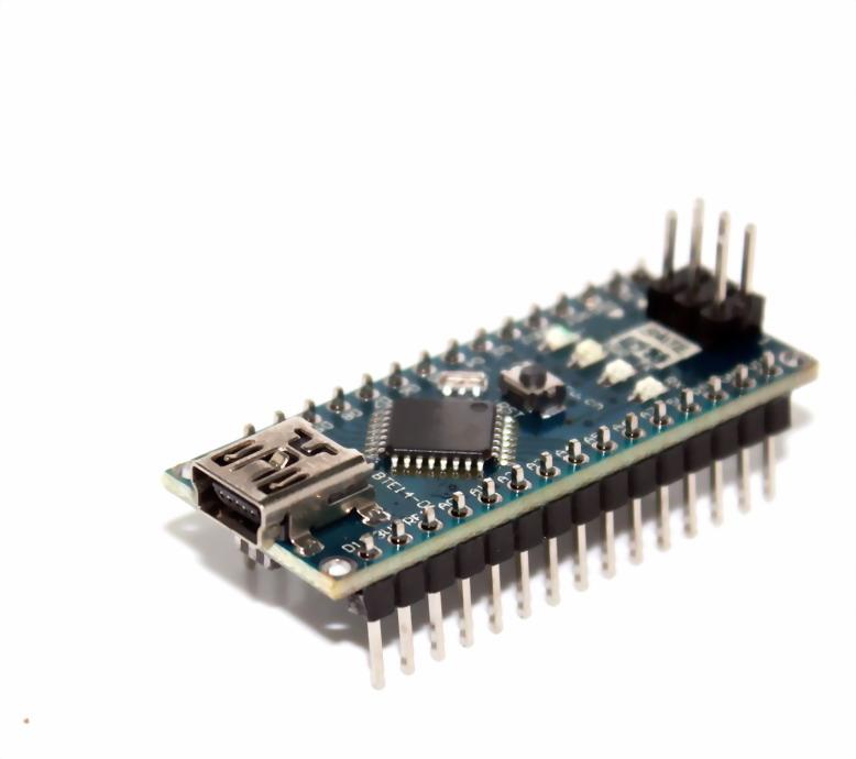 Arduino Nano 3.0 Mini USB รุ่นใหม่ใช้ชิฟ CH340G แบบบัดกรีขาแล้ว (ไม่มีสาย Mini USB)