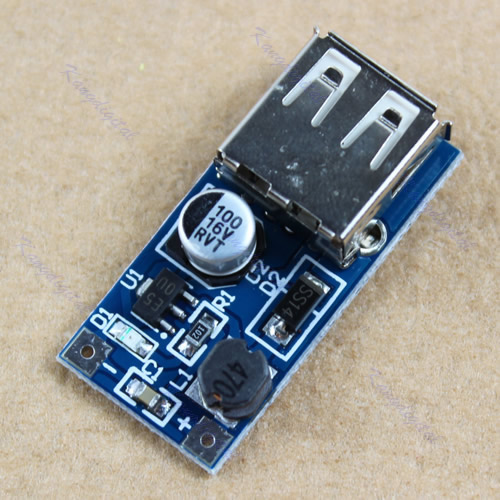 DC 0.9V to 5V 500ma USB Output charger 0.9-5V