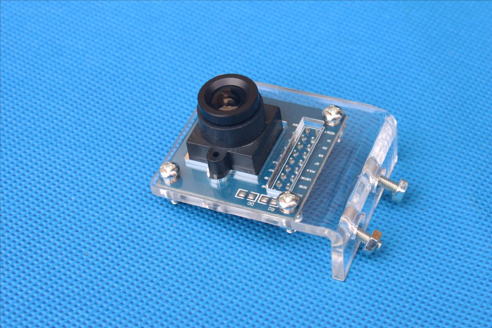 Camera Holder for OV7670 Camera Module (Acrylic Bracket)