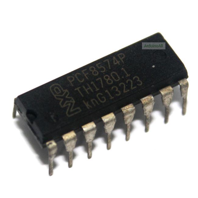 IC PCF8574P ขยายขาพอร์ท I/O