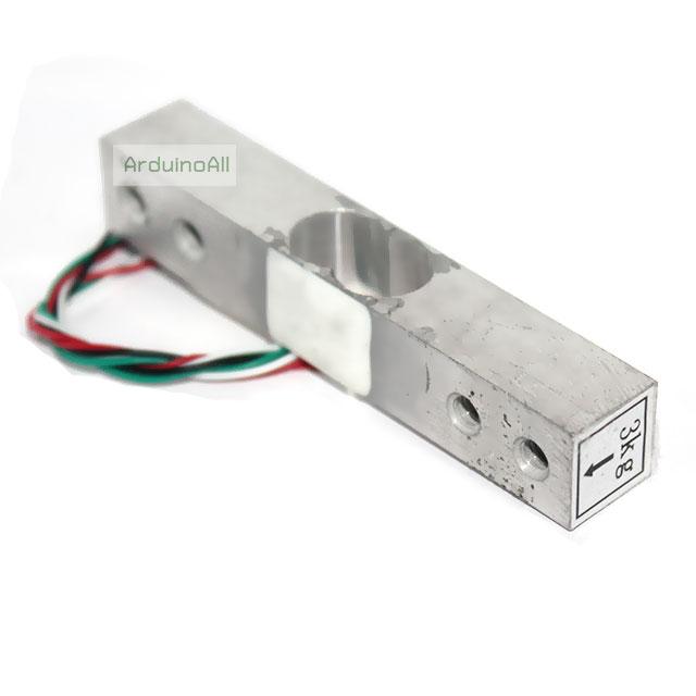 Load Cell Weight Sensor 3 Kg เซนเซอร์วัดน้ำหนัก Load Cell วัดได้สูงสุด 3KG