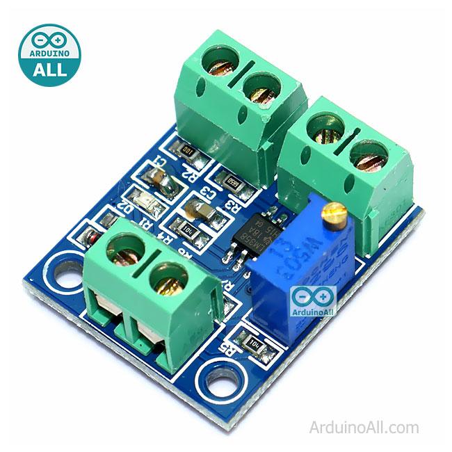 โมดูลแปลงกระแสเป็นโวลต์ 0-20mA to 0-5V current to voltage module 0-20mA to 0-5V