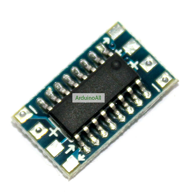 RS232 MAX3232 level to TTL level serial converter board module Bi-direction RS232 to TTL