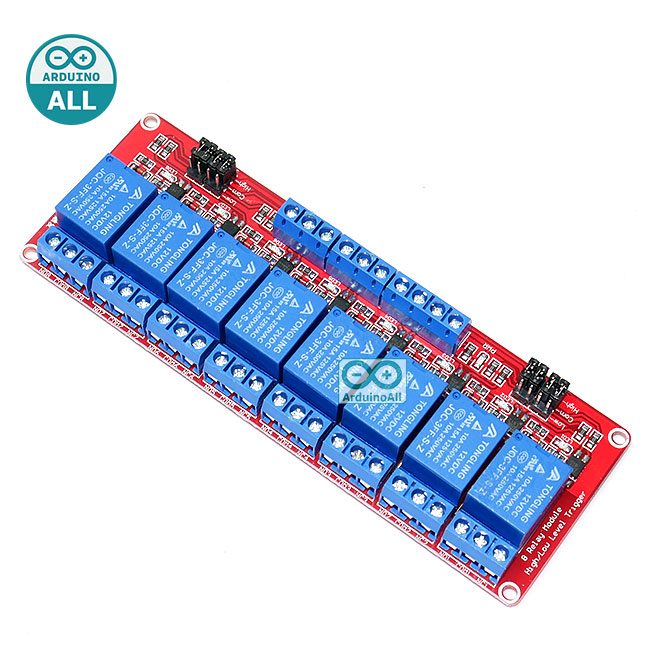 8 Channel Relay (10A) Relay 12V Relay 8 ช่อง Module Board for Arduino PIC AVR MCU DSP ARM